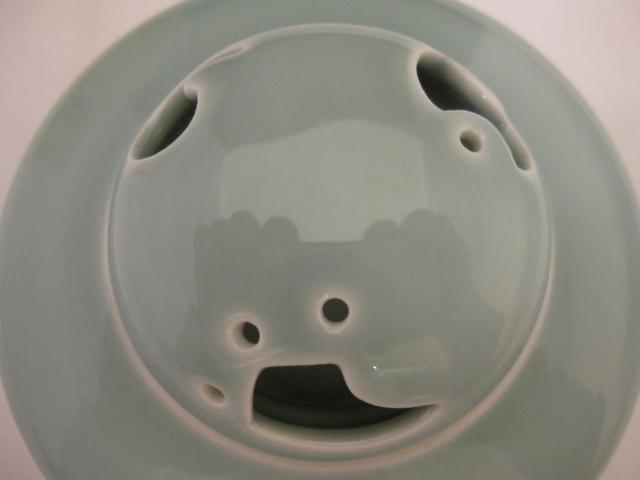 宮内庁御用達 深川製磁 3号香炉 青磁 有田焼 茶道具 共箱 未使用品_画像4
