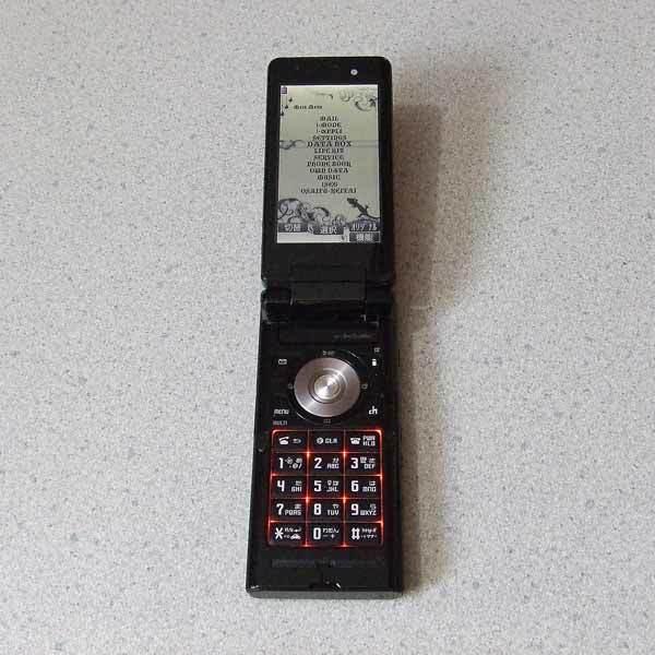 携帯電話 docomo NEC FOMA N905i + 卓上ホルダ N14 + FOMA ACアダプタ01 セット_画像3
