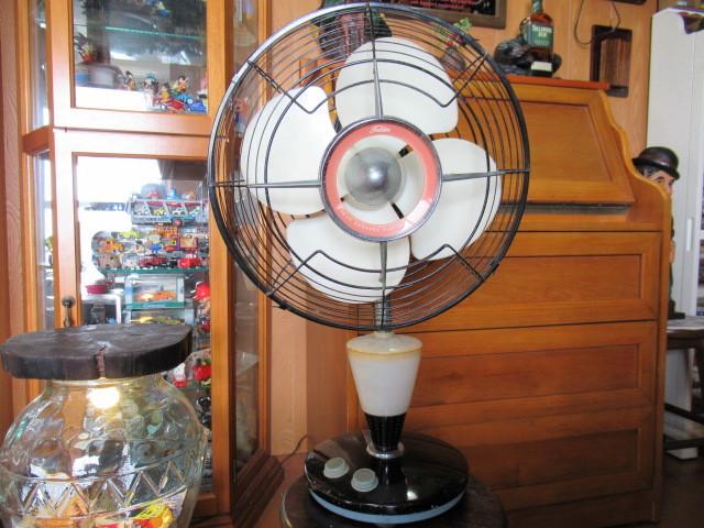 ★希少・1960年式・TOSHIBA・東京芝浦電機(東芝電気)・夕顔・扇風機・動作確認済み♪