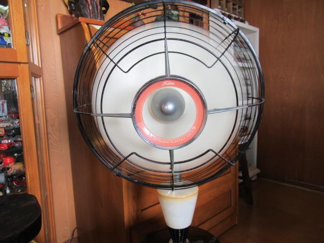 ★希少・1960年式・TOSHIBA・東京芝浦電機(東芝電気)・夕顔・扇風機・動作確認済み♪_画像10