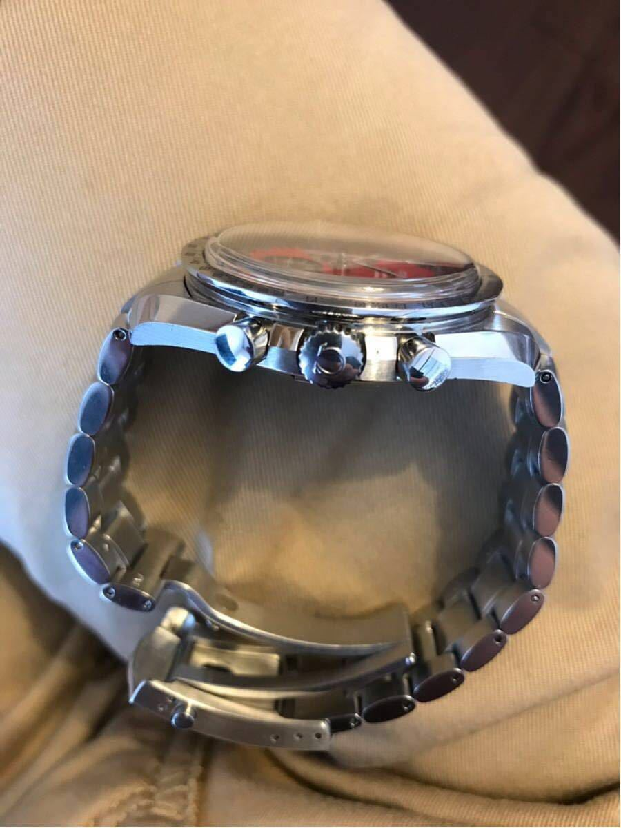 祝ドキュメンタリー映画上映決定記念 OMEGA オメガ スピードマスター シューマッハ レジェンド レッド メンズ 腕時計_画像4