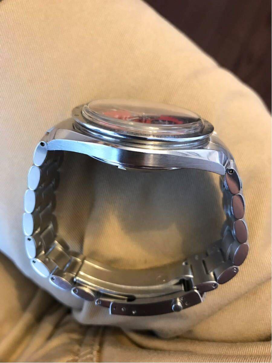 祝ドキュメンタリー映画上映決定記念 OMEGA オメガ スピードマスター シューマッハ レジェンド レッド メンズ 腕時計_画像5