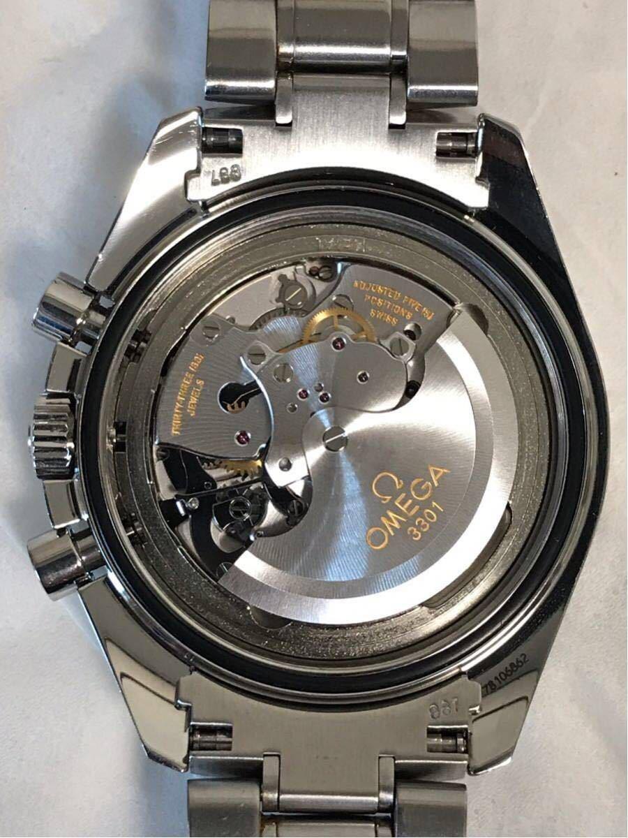 祝ドキュメンタリー映画上映決定記念 OMEGA オメガ スピードマスター シューマッハ レジェンド レッド メンズ 腕時計_画像7