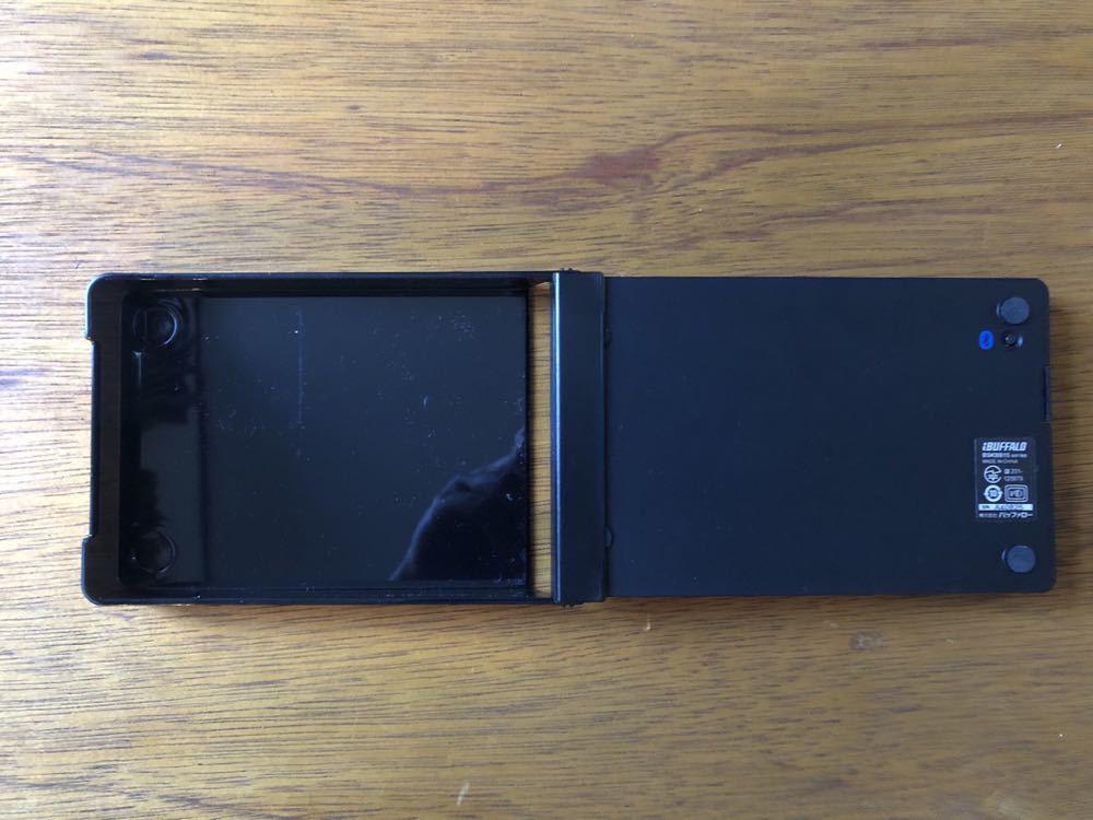 バッファロー ブルートゥース ワイヤレス キーボード 折りたたみ型 BSKBB15 動作確認済 モバイル ノマド_画像4