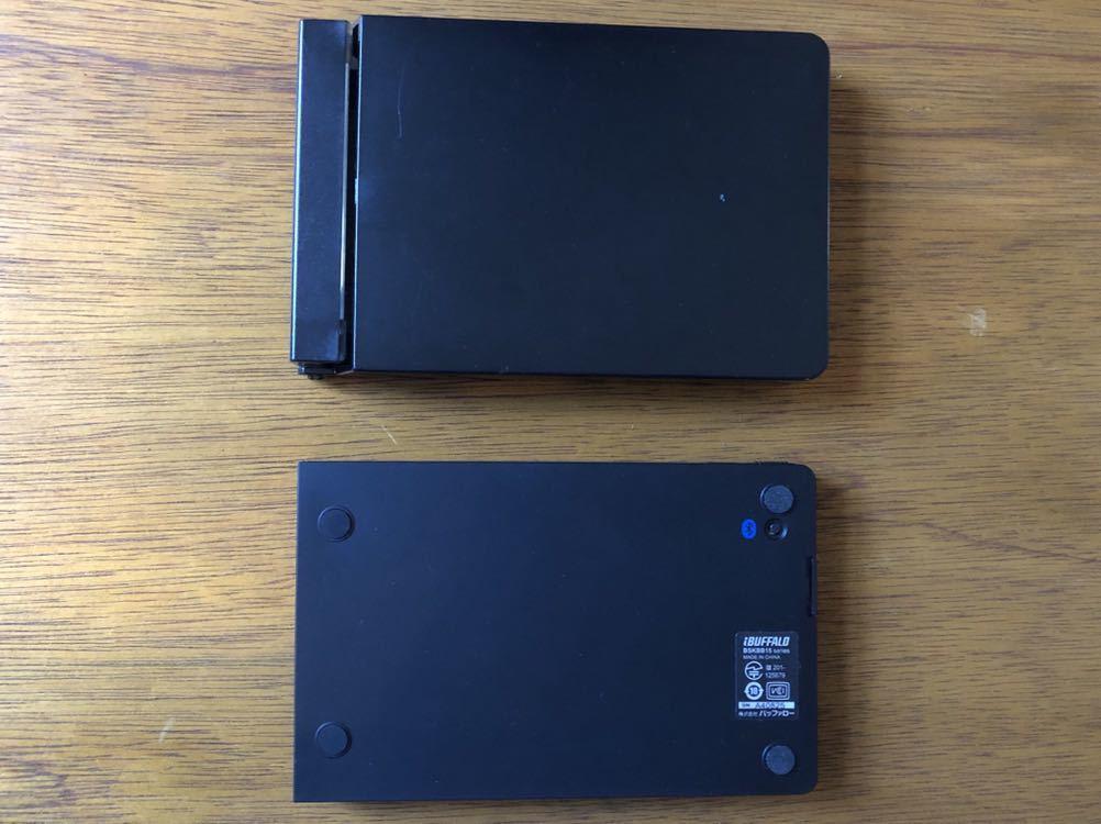バッファロー ブルートゥース ワイヤレス キーボード 折りたたみ型 BSKBB15 動作確認済 モバイル ノマド_画像2