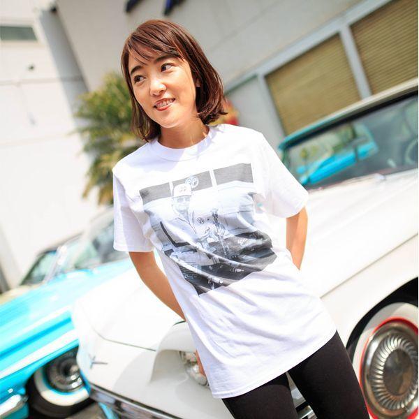 XLサイズ Dean MOON Tシャツ ムーンアイズ ホワイト 白 mooneyes HOT ROD hot rodder ホットロッド 車 バイク好きの方にぜひ レトロ_画像9
