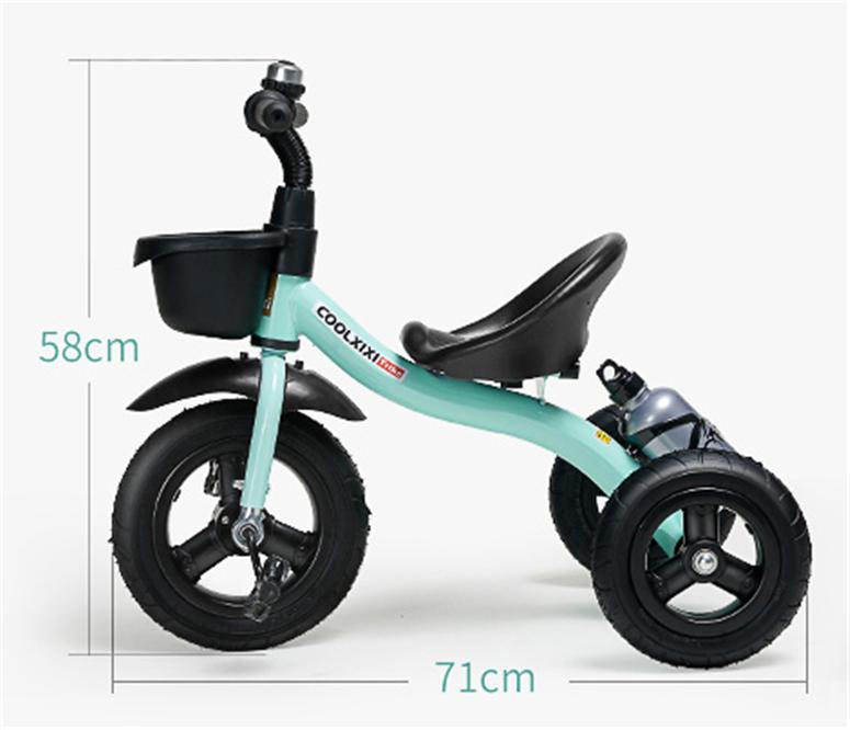 新入荷☆子供用三輪車 おしゃれ バランスバイク プレゼント ペダル付き a4_画像2