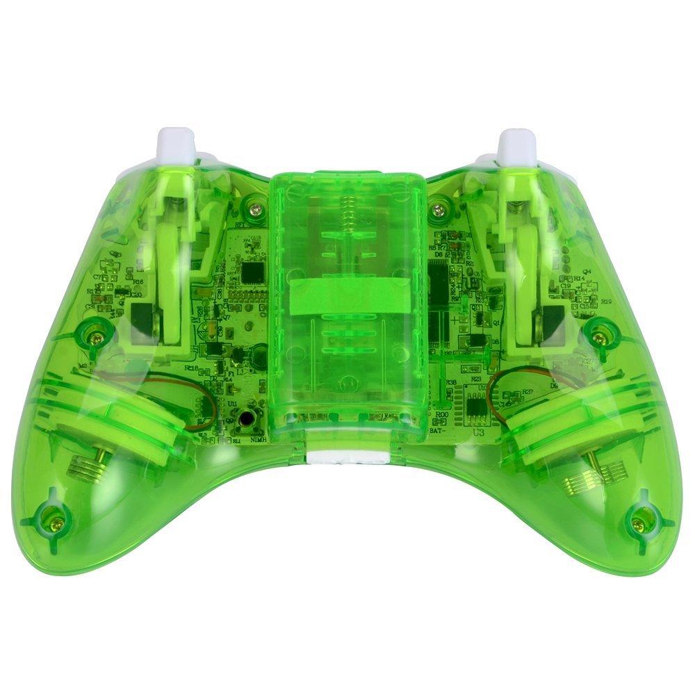 xbox 360 コントローラー ゲームパッド ワイヤレス Windows対応 LEDライト_画像7
