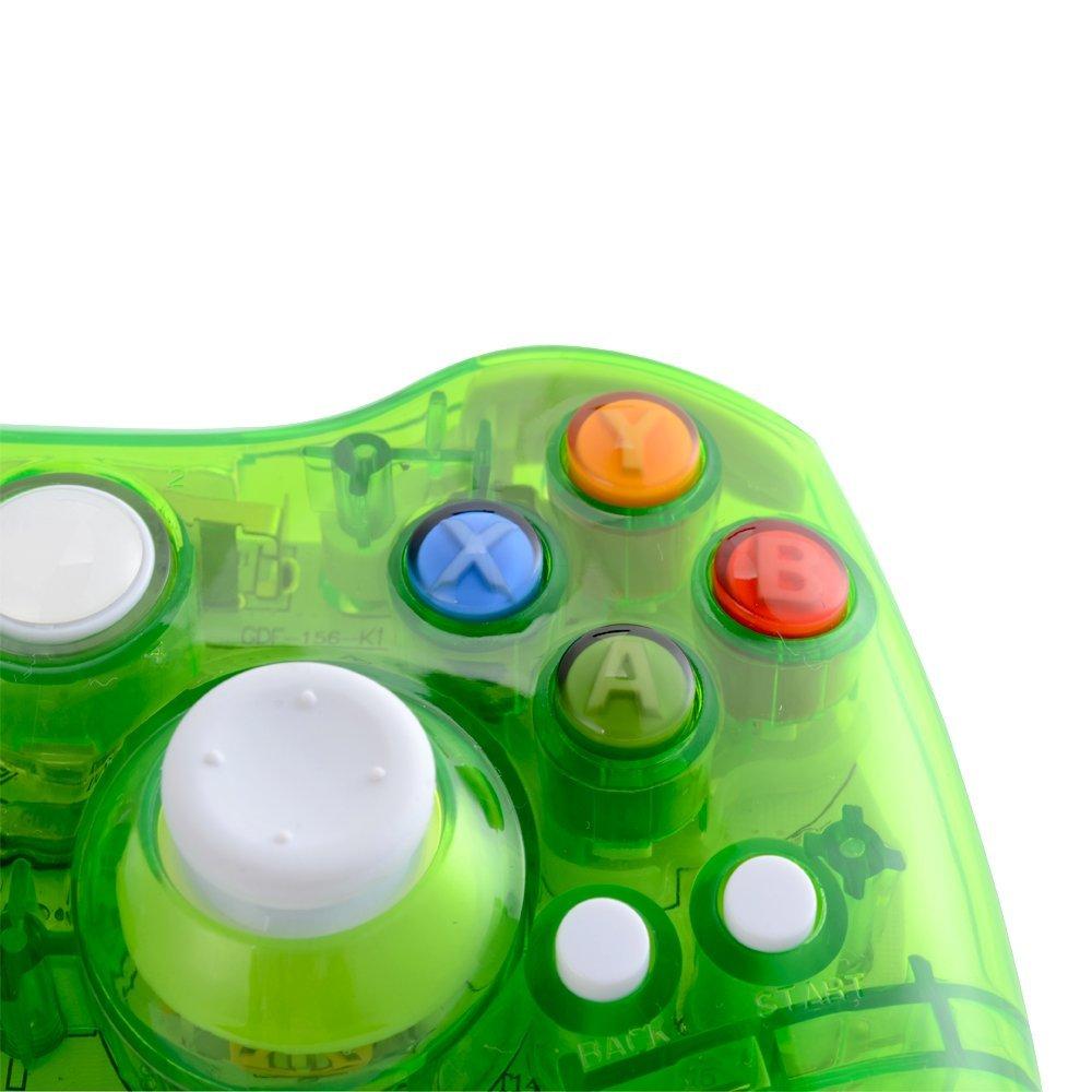 xbox 360 コントローラー ゲームパッド ワイヤレス Windows対応 LEDライト_画像5