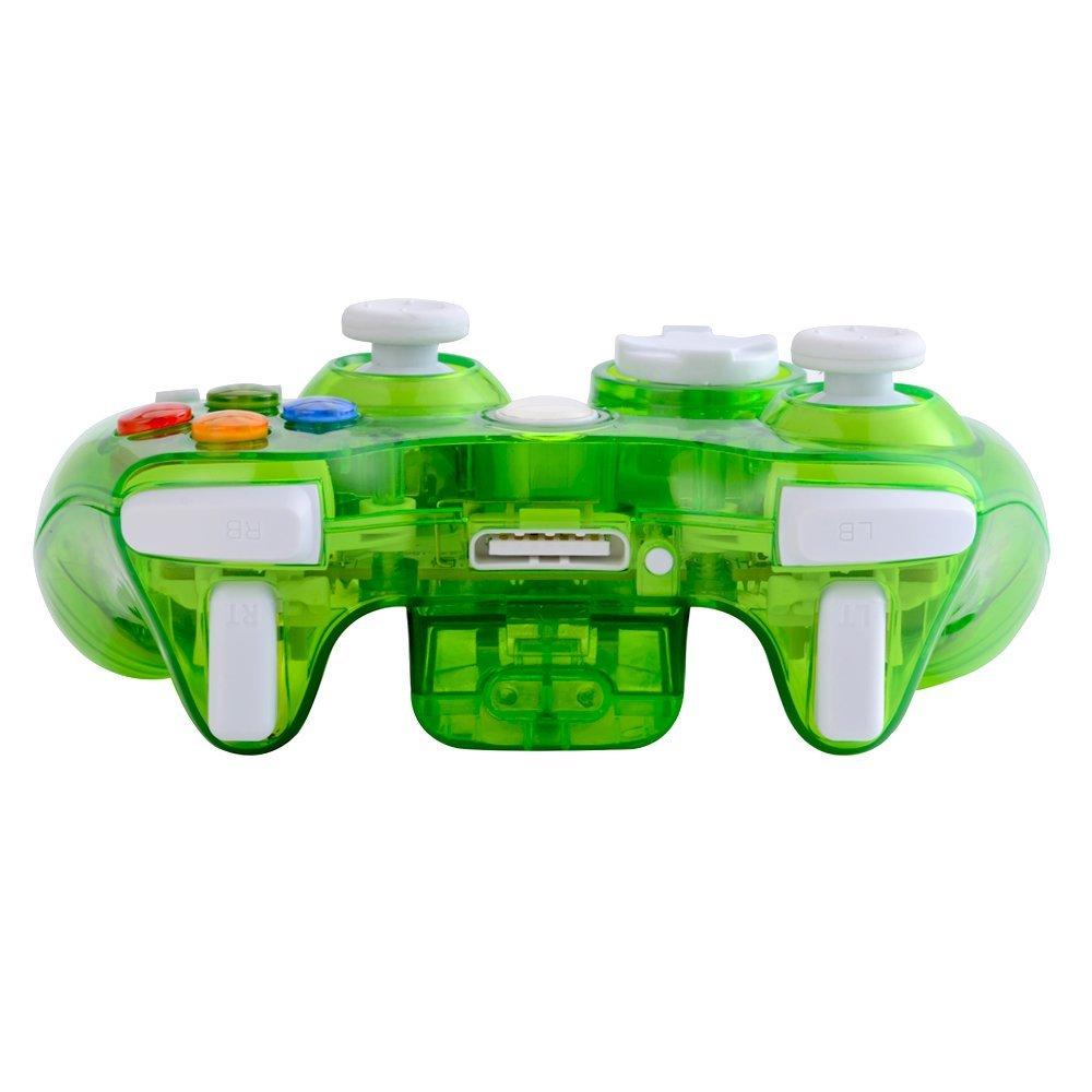 xbox 360 コントローラー ゲームパッド ワイヤレス Windows対応 LEDライト_画像4