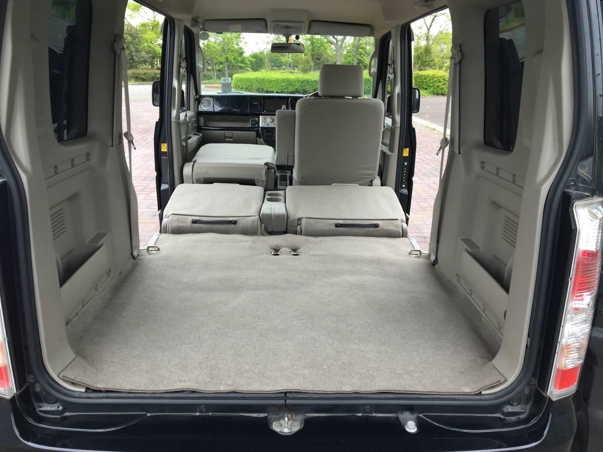 4WD H23 後期型 PZターボ/カロナビ/TV・DVD視聴可能/バックカメラ/Bluetooth/ETC/シートヒーター/リヤヒーター/黒ウッド調パネル/車検2/4_画像7