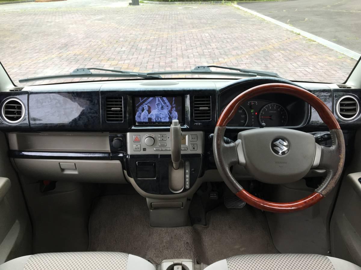 4WD H23 後期型 PZターボ/カロナビ/TV・DVD視聴可能/バックカメラ/Bluetooth/ETC/シートヒーター/リヤヒーター/黒ウッド調パネル/車検2/4_画像3