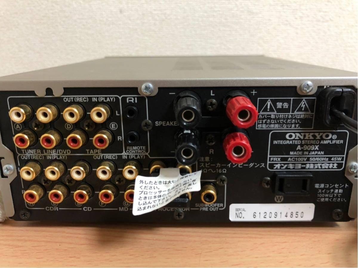 ★動作品★ONKYO A-909X MD-105X T-405X _画像6