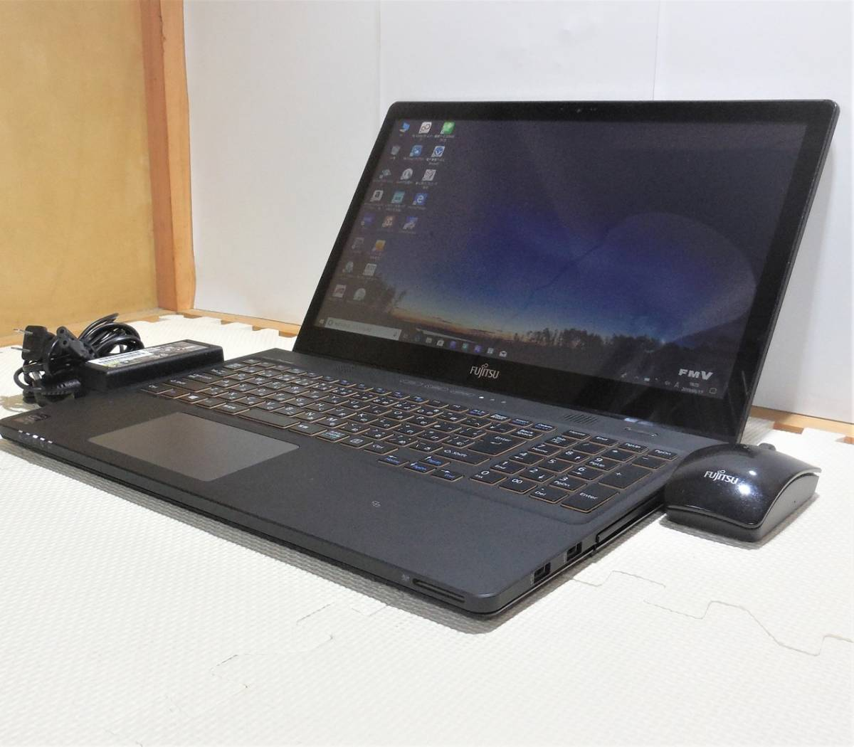 超綺麗フルHD&タッチパネル搭載!【爆速新品 SSD 512GB &core i7-4702HQ(4コア)】8GB/Blu-ray/office/Windows10/富士通 LIFEBOOK AH77/M