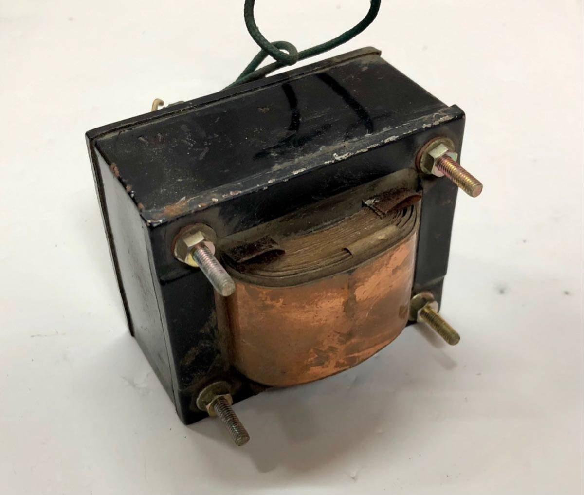 電源トランス2個まとめて 真空管用 ラジオ・アンプ・実験にどうぞ オシロスコープからの外し品 何と1円!