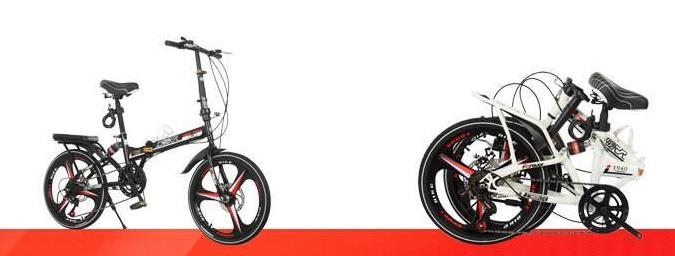 高級仕様 折りたたみ 自転車★ファットバイク マウンテンバイク★20インチ★ディスクブレーキ 通勤 便利 16kg_画像5