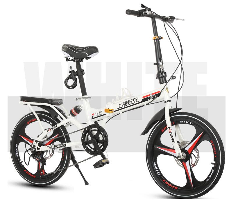 高級仕様 折りたたみ 自転車★ファットバイク マウンテンバイク★20インチ★ディスクブレーキ 通勤 便利 16kg_画像2