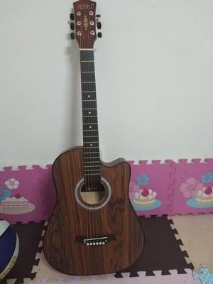 38寸花梨木原木ギター、新品未使用。_画像3
