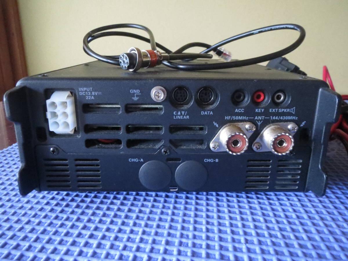 八重洲 FT897 電源 同軸5D-FB約10M Adonisマイク配線_画像5