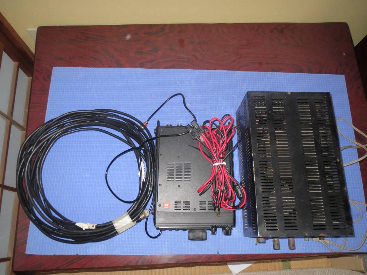 八重洲 FT897 電源 同軸5D-FB約10M Adonisマイク配線_画像9