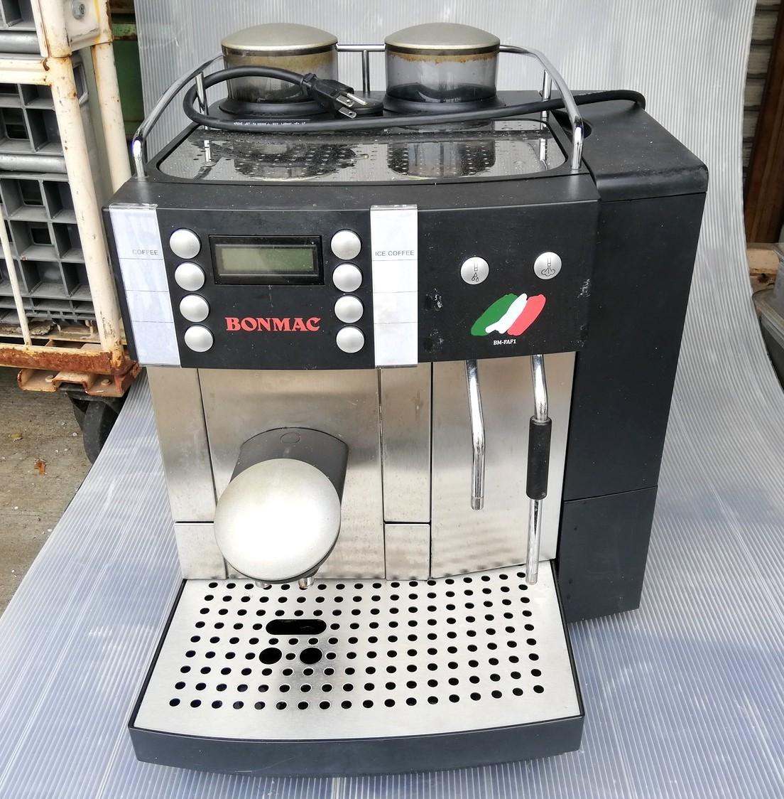 FR-1◆FRANKE フランケ Typ654 エスプレッソマシン 100V 通電確認済 コーヒーマシン / BONMAC BM-FAF1 ★引取歓迎(大阪)