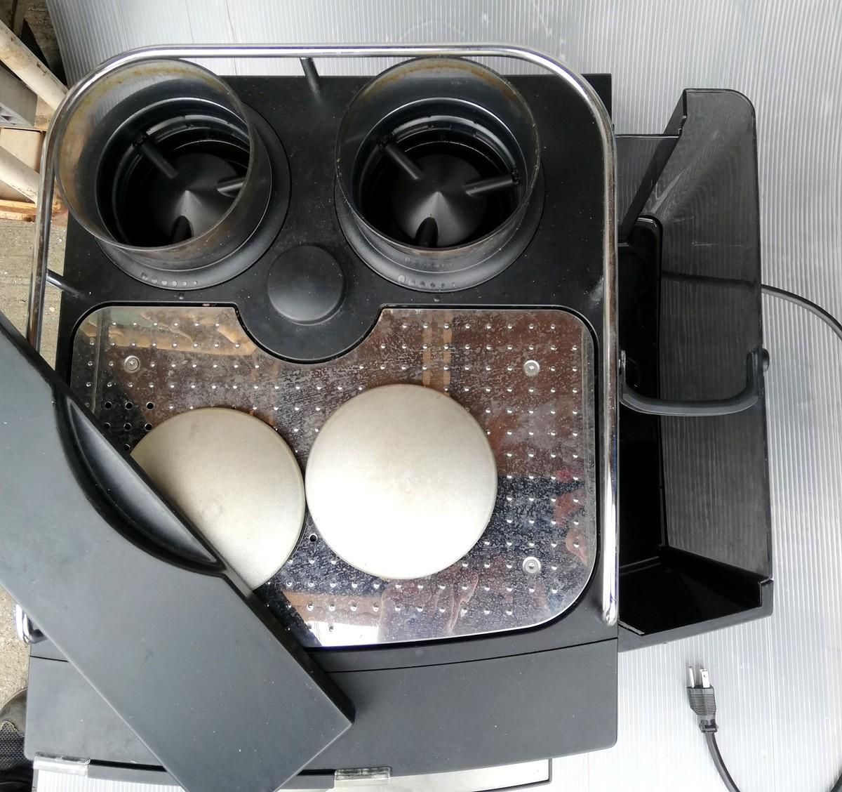 FR-1◆FRANKE フランケ Typ654 エスプレッソマシン 100V 通電確認済 コーヒーマシン / BONMAC BM-FAF1 ★引取歓迎(大阪)_画像9