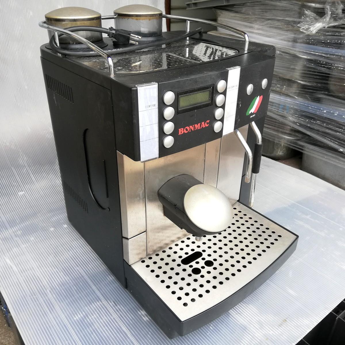 FR-1◆FRANKE フランケ Typ654 エスプレッソマシン 100V 通電確認済 コーヒーマシン / BONMAC BM-FAF1 ★引取歓迎(大阪)_画像2