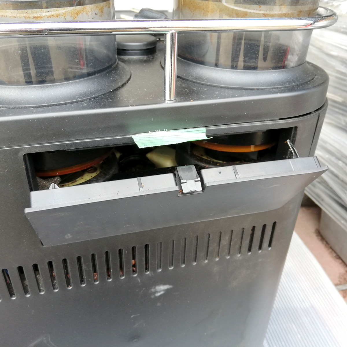 FR-1◆FRANKE フランケ Typ654 エスプレッソマシン 100V 通電確認済 コーヒーマシン / BONMAC BM-FAF1 ★引取歓迎(大阪)_画像8