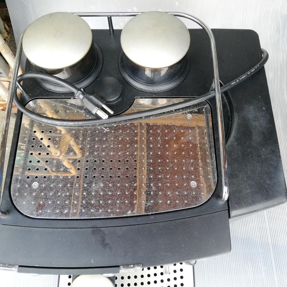 FR-1◆FRANKE フランケ Typ654 エスプレッソマシン 100V 通電確認済 コーヒーマシン / BONMAC BM-FAF1 ★引取歓迎(大阪)_画像6