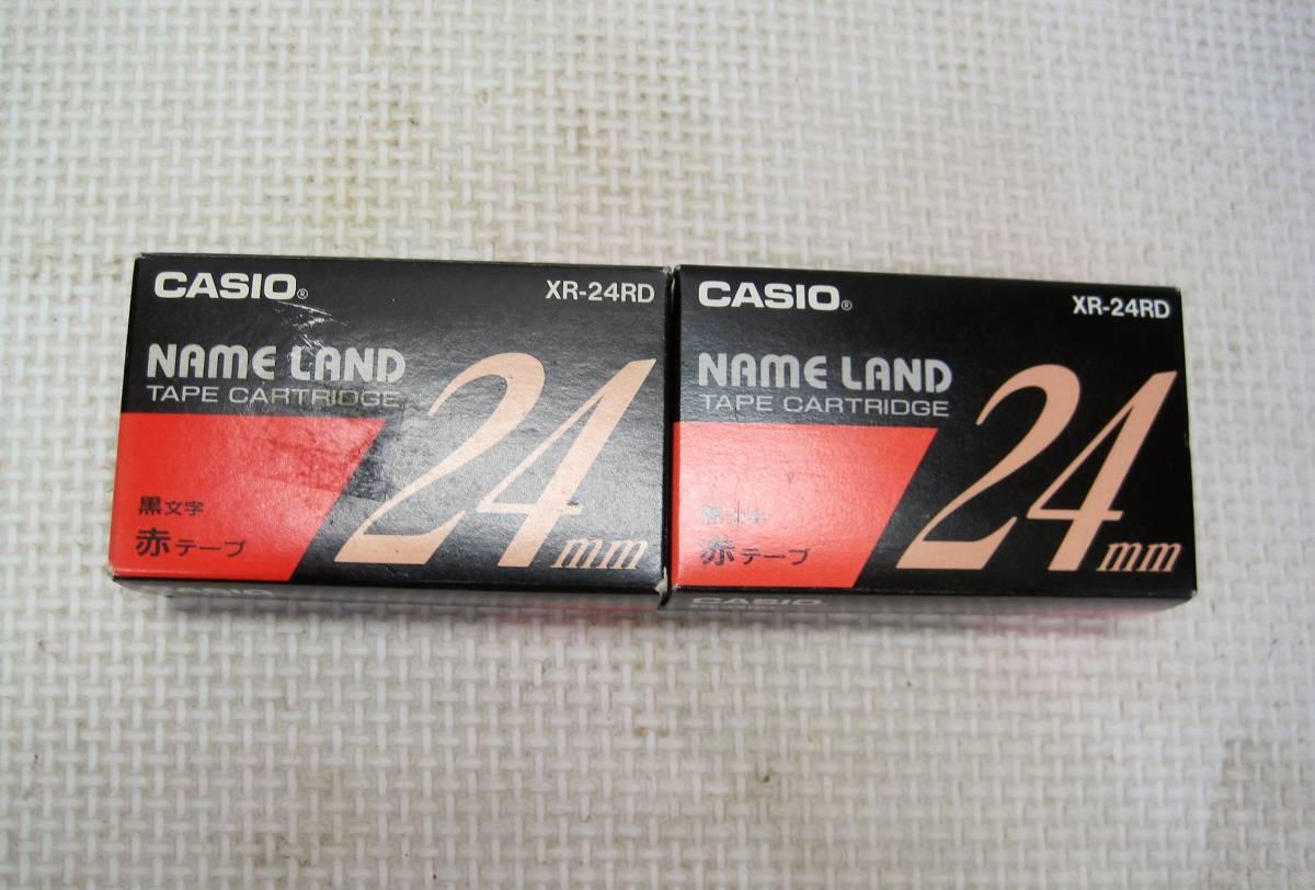 CASIO/カシオ NAME RAND ネームランド テープカートリッジ・3色・ 24mm・6個・まとめて 画像参考★新品・未使用_画像4