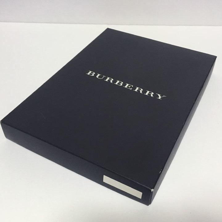 バーバリー/BURBERRY ハンカチ/ソックス 各1 箱入りセット 日本製 父の日【3271,3272】_画像9