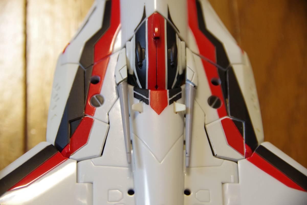 バンダイ DX超合金 マクロスF 完全変形 VF-25F スーパーメサイアバルキリー スーパーパーツ (早乙女アルト機) ジャンク_画像10