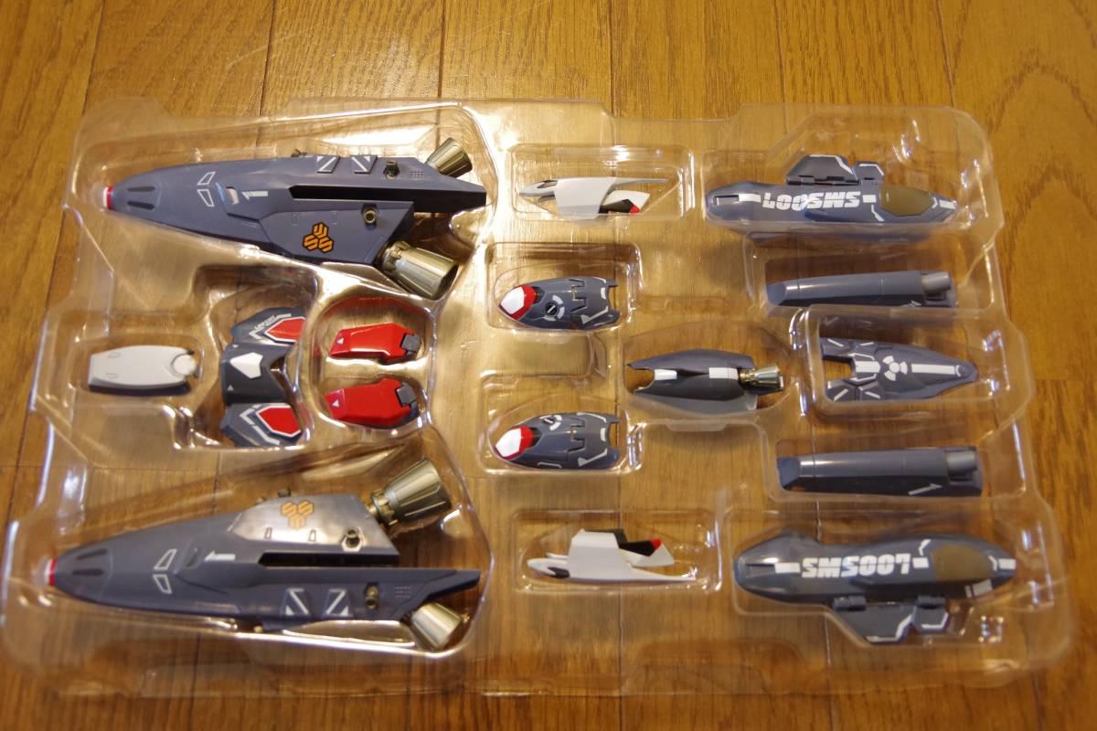 バンダイ DX超合金 マクロスF 完全変形 VF-25F スーパーメサイアバルキリー スーパーパーツ (早乙女アルト機) ジャンク_画像6