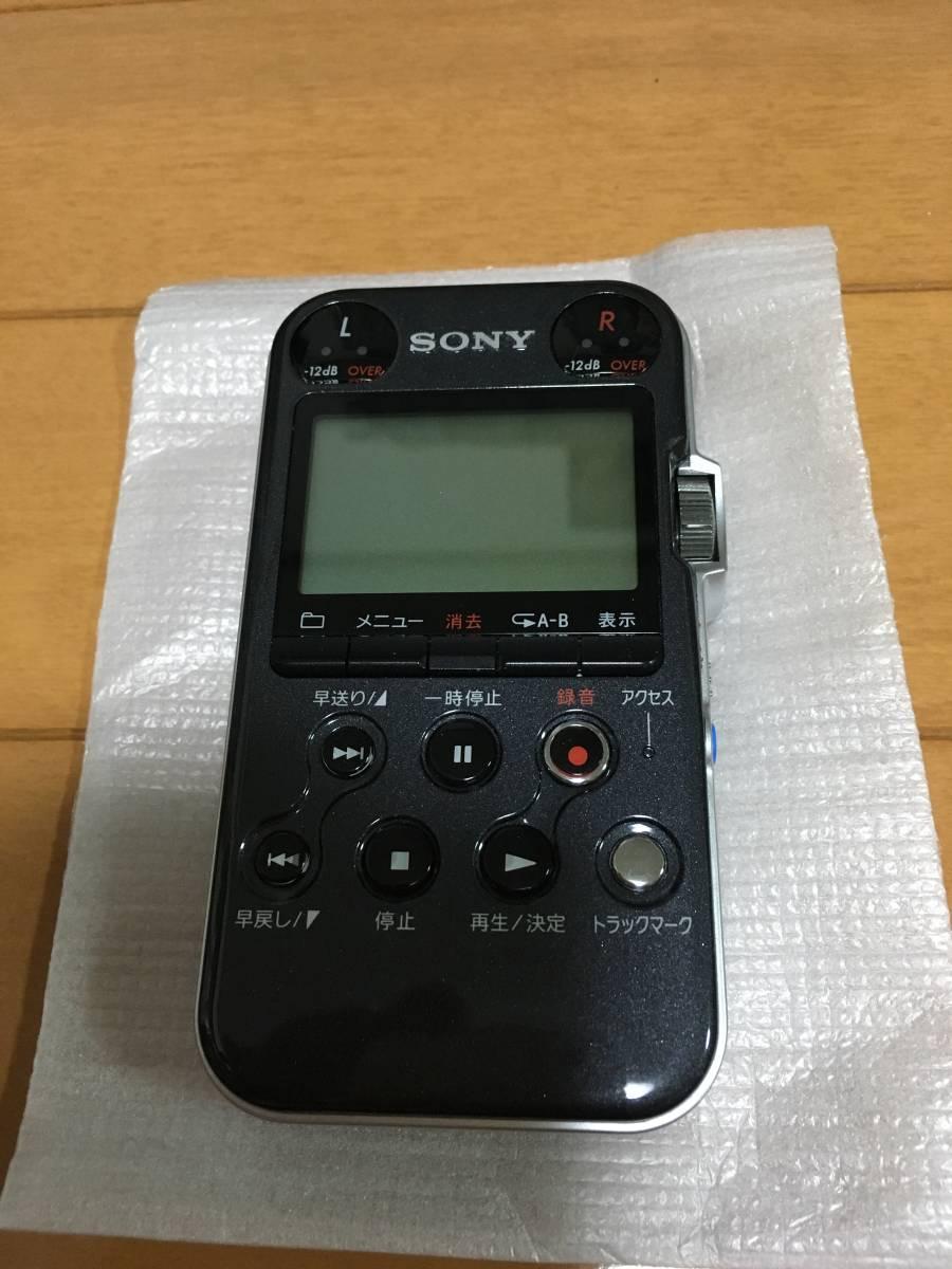 ◆ 送料込! ソニー SONY リニアPCMレコーダー PCM-M10 ブラック ◆_画像2
