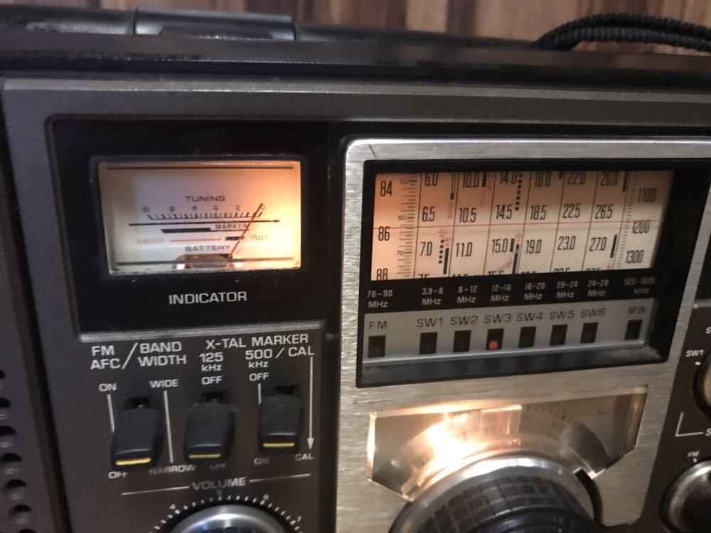 ナショナル クーガ2200 RF-2200 BCLラジオ_画像2