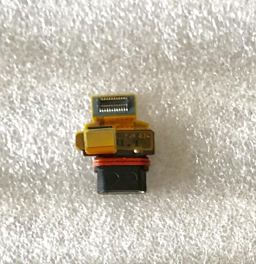 新品純正Xperia Z5 compact用修理部品交換パーツ充電端子_画像2