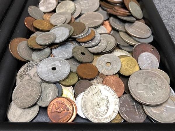 ★2100g超え 超大量 外国銭 硬貨 おまとめ 未選別 1円スタート_画像6