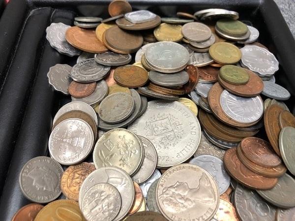 ★2100g超え 超大量 外国銭 硬貨 おまとめ 未選別 1円スタート_画像5
