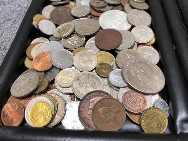 ★2100g超え 超大量 外国銭 硬貨 おまとめ 未選別 1円スタート_画像4