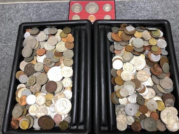 ★2100g超え 超大量 外国銭 硬貨 おまとめ 未選別 1円スタート