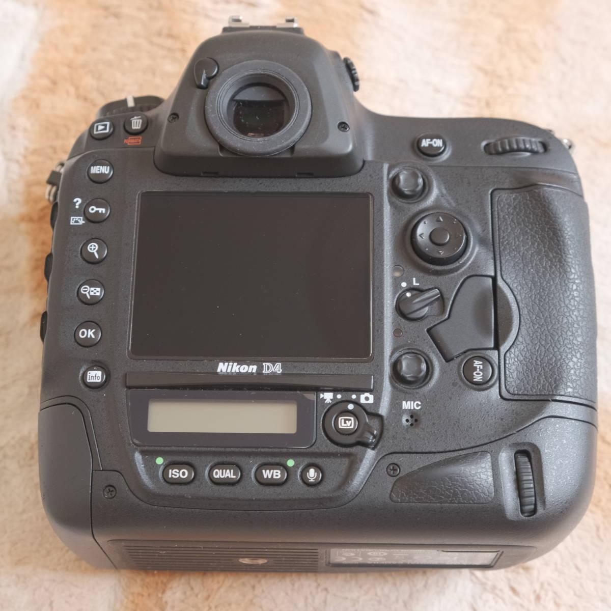 Nikon ニコン D4_画像4