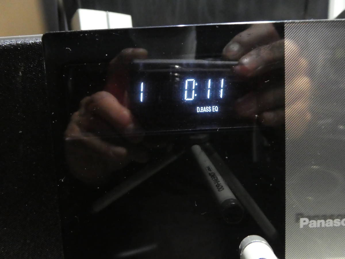 Panasonic SC-HC30-S CD コンパクト ステレオシステム/ AM/ FM/ iPod対応/ シルバー_画像6