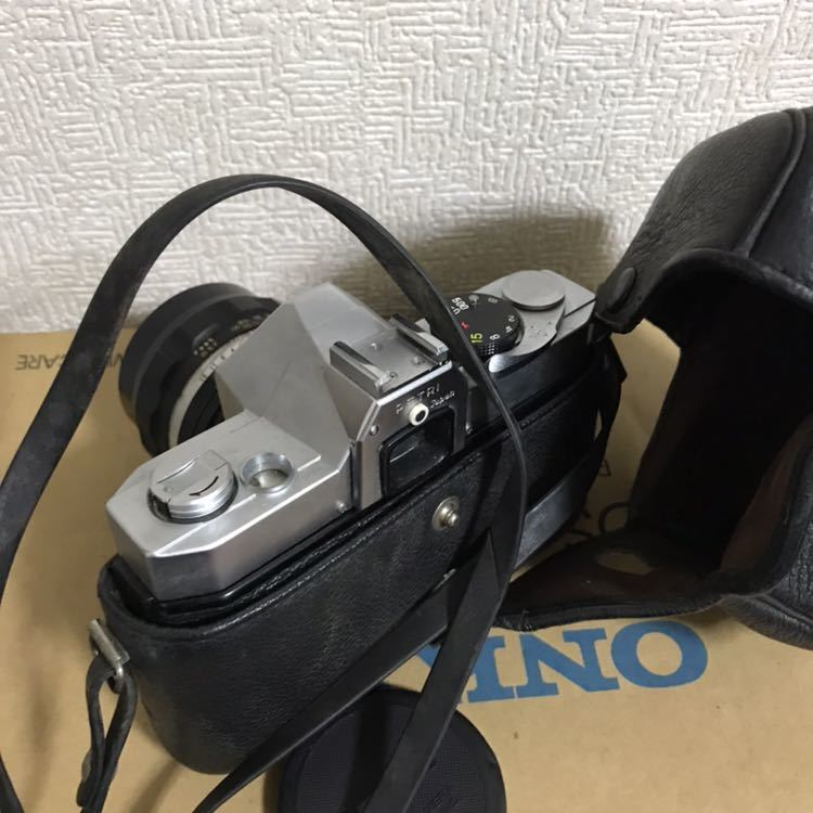 PETRI ペトリ 一眼レフカメラ 1:1.4 f=55mm フィルム 動作未確認み_画像5