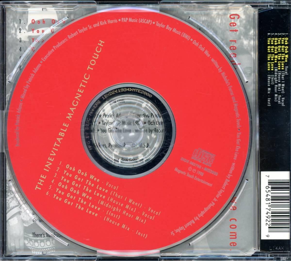 レア!!■Indie-Soul/R&B■THE INEVITABLE / magnetic touch (1998) 超~貴重作!! PATRICK ADAMS制作!!_画像2