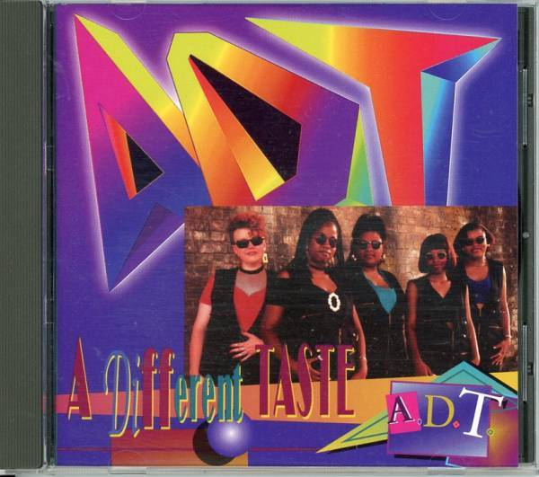 20%割引sale■Indie-R&B/HipHopSoul■ADT / A DIFFERENT TASTE (1994) 歌ウマ女性4人組、唯一作!!