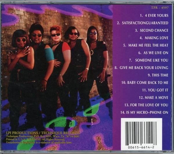 20%割引sale■Indie-R&B/HipHopSoul■ADT / A DIFFERENT TASTE (1994) 歌ウマ女性4人組、唯一作!!_画像2