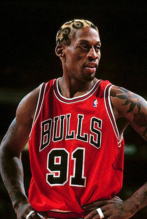 JSA証明書付 NBA 本人 直筆サイン デニス ロッドマン オーセンティック ユニフォーム シカゴ ブルズ Dennis Rodman バスケットボール NIKE_画像2