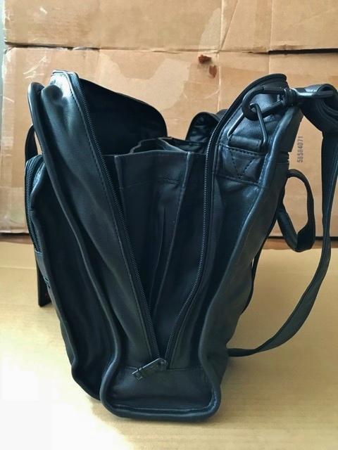 良品 TUMI トゥミ テュミ 革 本革 レザー ビジネスバッグ ブリーフケース レザーバッグ ショルダーバッグ 通勤 メンズ バッグ ブラック USA_画像3