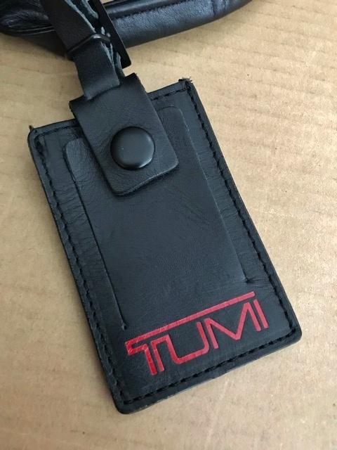 良品 TUMI トゥミ テュミ 革 本革 レザー ビジネスバッグ ブリーフケース レザーバッグ ショルダーバッグ 通勤 メンズ バッグ ブラック USA_画像7