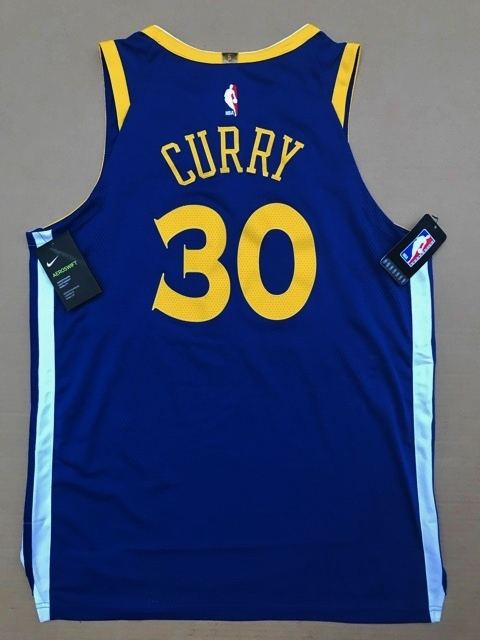 新品 NBA 約2.5万円 ナイキ NIKE ステフィン カリー curry オーセンティック 選手仕様 ユニフォーム ウォリアーズ プロカット バスケット _画像2